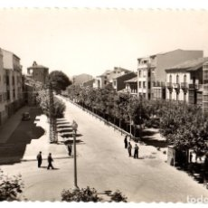 Postales: TARJETA POSTAL SANTO DOMINGO DE LA CALZADA. AVENIDA DEL GENERALISIMO. Nº 7. GARCIA GARRABELLA. Lote 118243746