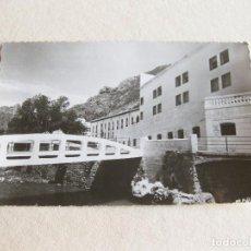 Postales: POSTAL FOTOGRÁFICA DEL BALNEARIO DE ARNEDILLO - PUENTE DE ACCESO - HEREDEROS DE MARTINEZ PINILLOS. Lote 120220995