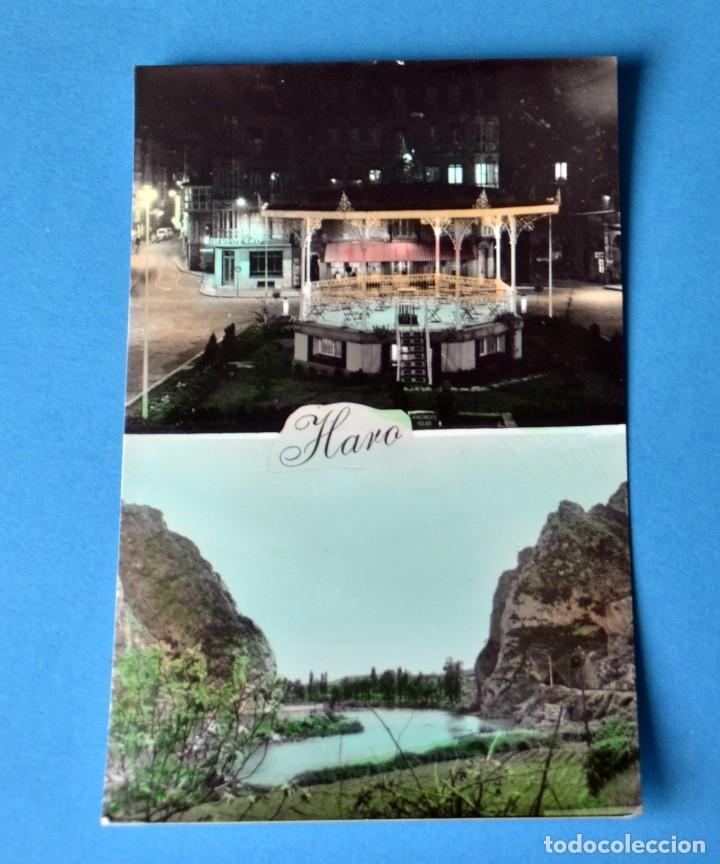 POSTAL DE HARO ( LOGROÑO): PLAZA DE LA PAZ- LAS CONCHAS SAN FELICES (Postales - España - La Rioja Moderna (desde 1.940))