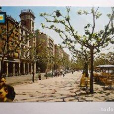 Postales: POSTAL LOGROÑO - PASEO ESPOLON. Lote 129393820