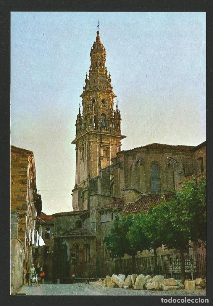 SANTO DOMINGO DE LA CALZADA - TORRE DE LA CATEDRAL - P26691 (Postales - España - La Rioja Moderna (desde 1.940))