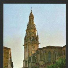 Postales: SANTO DOMINGO DE LA CALZADA - TORRE DE LA CATEDRAL - P26691. Lote 130286834