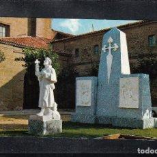 Postales: 5610.- SANTO DOMINGO DE LA CALZADA. MONUMENTO AL PEREGRINO. Lote 132888610