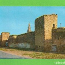 Postales: POSTAL - ANTIGUAS MURALLAS - SANTO DOMINGO DE LA CALZADA -. Lote 133100102