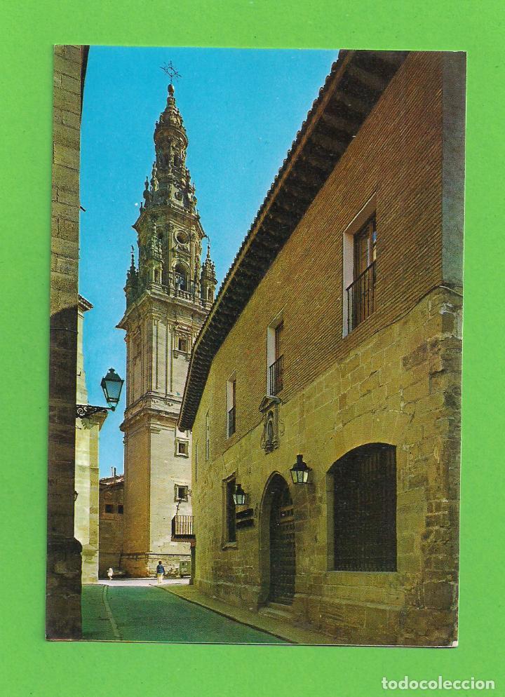 POSTAL - PARADOR NACIONAL Y TORRE - CATEDRAL - SANTO DOMINGO DE LA CALZADA - LOGROÑO - (Postales - España - La Rioja Moderna (desde 1.940))