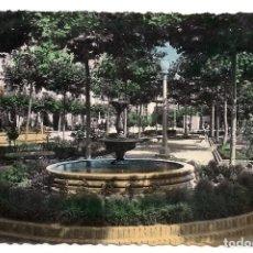 Postales: SANTO DOMINGO DE LA CALZADA - JARDINES BEATO HERMOSILLA - Nº20 - GARCÍA GARRABELLA. Lote 137764406
