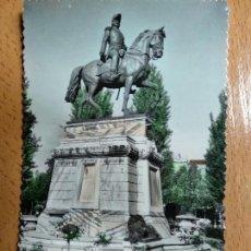 Postales: LOGROÑO .- MONUMENTO GENERAL ESPARTERO .- EDICIONES SICILIA Nº 37. Lote 142720530