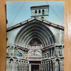 Postales: LOGROÑO PORTADA DE SAN BARTOLOMÉ. POSTALES VICTORIA. Nº 23. Lote 142721138