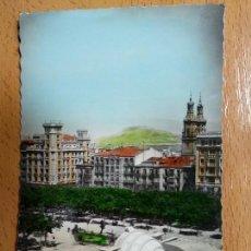 Postales: LOGROÑO Nº 29. PASEO DEL ESPOLÓN. GARCÍA GARABELLA Y COMPAÑIA. Lote 142721650