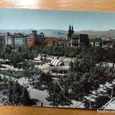 Postales: LOGROÑO. PLAZA DEL ESPOLÓN Y KIOSCO.. Lote 142721870