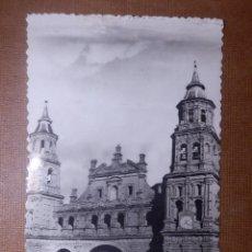 Postales: TARJETA POSTAL - LOGROÑO - ALFARO - IGLESIA DE SAN MIGUEL - GRÁFICAS ESTEBAN - FOTO CASA FIGUEROLA. Lote 144280406