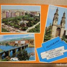 Postales: LOGROÑO 880 ED. PARÍS. Lote 147402266