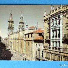 Postales: POSTAL DE LOGROÑO: CALLE GENERAL MOLA. Lote 148037414