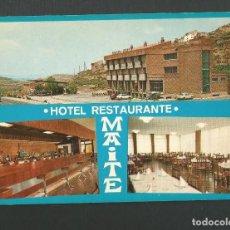 Postales: POSTAL SIN CIRCULAR - HOTEL RESTAURANTE MAITE - AUSEJO - LOGROÑO - EDITA SAE. Lote 156020078
