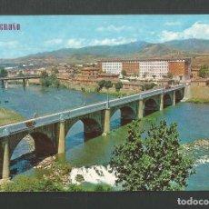 Postales: POSTAL SIN CIRCULAR - LOGROÑO 193 - PUENTE SOBRE EL EBRO - EDITA PARIS. Lote 156020198