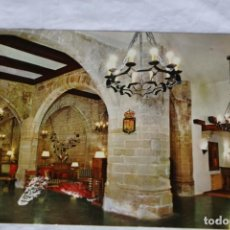 Postales: PARADOR NACIONAL SANTO DOMINGO CALZADA SERIE AÑ 4 LOGROÑO-TURISMO DE ESPAÑA. Lote 156762226