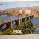 Postales: POSTAL LOGROÑO - PUENTE SOBRE EL RIO EBRO - CIRCULADA. Lote 160525902