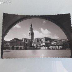 Postales: TARJETA POSTAL - SANTO DOMINGO DE LA CALZADA Nº 5 - LOGROÑO - GARCÍA GARRABELLA Y COMPAÑÍA- ZARAGOZA. Lote 163602126