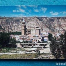 Postales: MURILLO DEL RÍO LEZA. LOGROÑO. VISTA PARCIAL Y RÍO JUBERA.. Lote 164622502