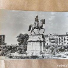 Postales: LOGROÑO. ESTATUA ECUESTRE DEL GENERAL ESPARTERO. Lote 166495566