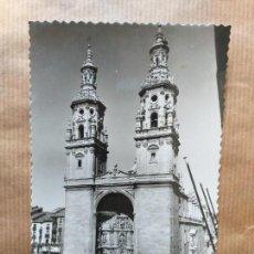 Postales: POSTAL DE LOGROÑO Nº 18. TORRES GEMELAS DE LA REDONDA. Lote 166715270