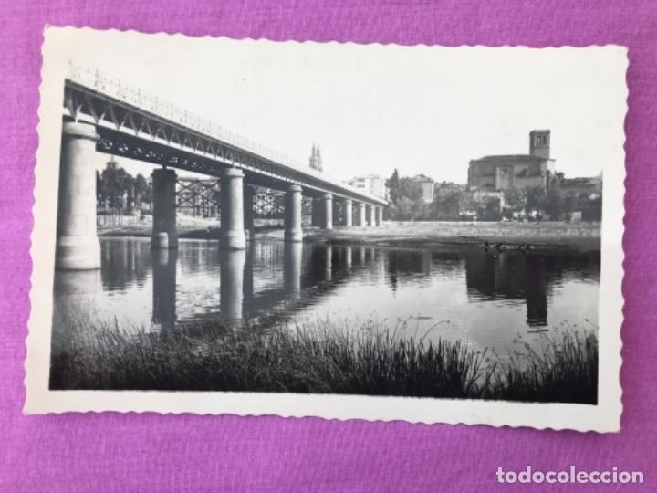 LA RIOJA FOTOGRAFICA LOGROÑO ORILLAS DEL RIO EBRO N 20 EDICION ARRIBAS (Postales - España - La Rioja Moderna (desde 1.940))