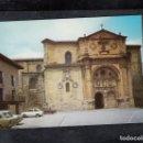 Postales: SANTO DOMINGO DE LA CALZADA. CATEDRAL Y FACHADA DEL PARADOR. Lote 168655244