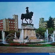Postales: POSTAL LOGROÑO ESTATUA DEL GENERAL ESPARTERO ED ARRIBAS. Lote 170342922