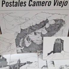 Postales: LOTE DE 29 POSTALES DE PUEBLOS Y ALDEAS DEL CAMERO VIEJO. DIBUJOS DE ERNESTO REINER. LA RIOJA.. Lote 173965899