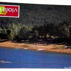 Postales: POSTAL - LA RIOJA, CLUB NÁUTICO EL RASILLO. Lote 174415002
