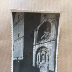 Postais: POSTAL DE LOGROÑO, PORTADA DE LA IGLESIA DE SANTIAGO EL REAL. Nº 9. Lote 174569177