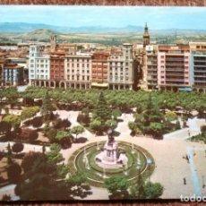 Postales: LOGROÑO - PASEO DEL ESPOLON. Lote 176410699