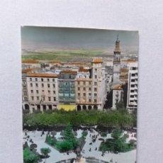 Postais: POSTAL DE LA RIOJA. LOGROÑO, ESPOLÓN Y NUEVOS JARDINES . Nº 55. Lote 176767090