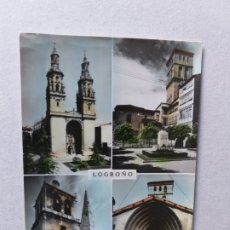 Postais: POSTAL DE LA RIOJA. LOGROÑO, CATEDRAL DE SANTA MARÍA DE LA REDONDA . Nº 51. Lote 176767228
