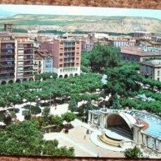 Postales: LOGROÑO - PASEO DEL ESPOLON. Lote 178180585