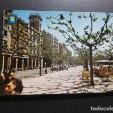 Postales: LOGROÑO PASEO DEL ESPOLON. Lote 178240243