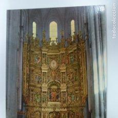 Postales: POSTAL. 3. SANTO DOMINGO DE LA CALZADA. LOGROÑO. RETABLO DE LA CATEDRAL. ED. INTER. NO ESCRITA. . Lote 178561528