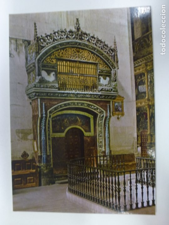 POSTAL. 4. SANTO DOMINGO DE LA CALZADA. LOGROÑO. EL GALLINERO. CATEDRAL. ED. INTER. NO ESCRITA. (Postales - España - La Rioja Moderna (desde 1.940))