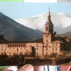 Cartoline: POSTAL SAN MILLAN DE LA COGOLLA LOGROÑO MONASTERIO DE YUSO. Lote 180877606
