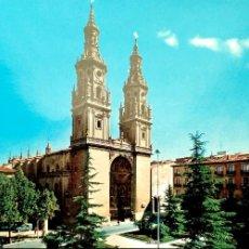 Postales: LOGROÑO. 7407 CATEDRAL DE SANTA MARÍA DE LA REDONDA. BEASCOA. NUEVA. COLOR. Lote 182486678
