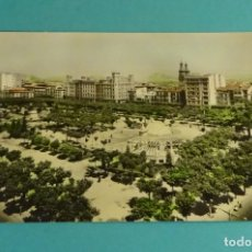 Postales: LOGROÑO. VISTA GENERAL DEL ESPOLÓN. DISTRIBUIDOR POSTALES - VICTORIA. Lote 183326243
