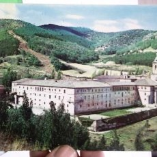 Cartoline: POSTAL SAN MILLAN DE LA COGOLLA MONASTERIO PANORÁMICA AL FONDO MONASTERIO DE SUSO N 7 HELIOTIPIA ART. Lote 186004941