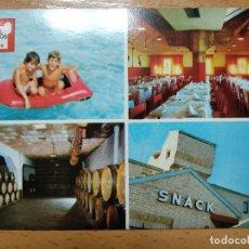 Cartes Postales: HOTEL PALACIOS Y SU MUSEO DE VINOS RIOJA ALFARO (LOGROÑO). Lote 192185165