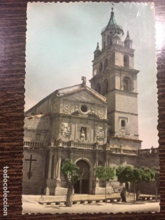CALAHORRA - CATEDRAL. VISTA GENERAL - N° 1 ED. SICILIA (Postales - España - La Rioja Moderna (desde 1.940))