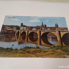 Postales: LA RIOJA - POSTAL LOGROÑO - PUENTE DE PIEDRA. Lote 193735123
