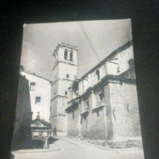 Postales: LOGROÑO. IGLESIA SANTIAGO EL REAL. EDICIONES MONTAÑÉS 19. Lote 193887037