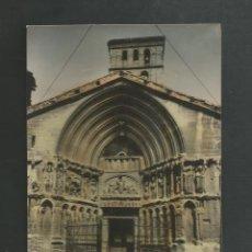 Postales: POSTAL SIN CIRCULAR - LOGROÑO 23 - PORTADA DE SAN BARTOLOME - EDITA L. MONTAÑES. Lote 195415975