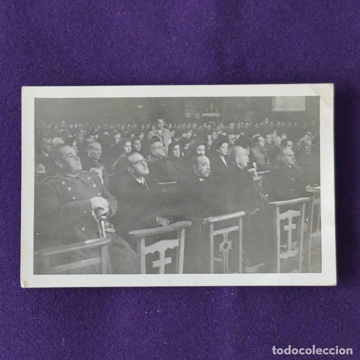 POSTAL FOTOGRAFICA DE LOGROÑO ( LA RIOJA). LA POSGUERRA CON AUTORIDADES CIVILES Y MILITARES. AÑOS 40 (Postales - España - La Rioja Moderna (desde 1.940))
