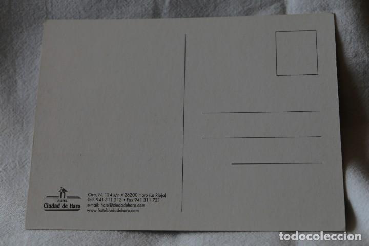 Postales: HOTEL CIUDAD DE HARO LA RIOJA sin circular - Foto 2 - 202498258