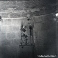 Postales: NEGATIVO ESPAÑA LA RIOJA SANTO DOMINGO DE LA CALZADA CATEDRAL 1973 KODAK 55MM GRAN FORMATO FOTO. Lote 204552981